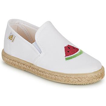Obuća Djevojčica Balerinke i Mary Jane cipele Citrouille et Compagnie OFADA Bijela