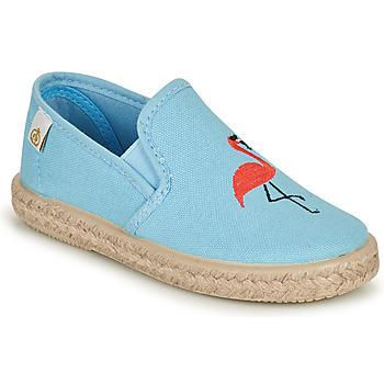 Obuća Djevojčica Balerinke i Mary Jane cipele Citrouille et Compagnie OSARA Blue / Nebesko plava