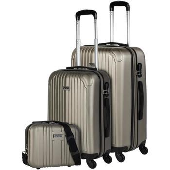 Torbe Čvrsti kovčezi Itaca SEVRON Set dva kovcega plus potreba Sampanjac