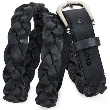 Tekstilni dodaci Žene  Remeni Lois pravi kozni zenski pojas Crni