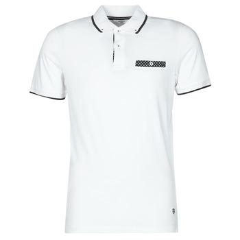 Odjeća Muškarci  Polo majice kratkih rukava Jack & Jones JPRBLABOLTON Bijela