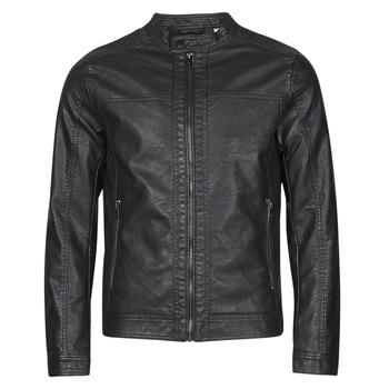 Odjeća Muškarci  Kožne i sintetičke jakne Jack & Jones JJEWARNER Crna