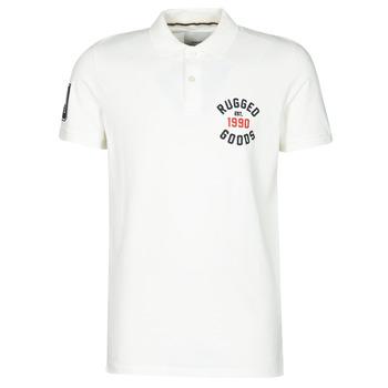 Odjeća Muškarci  Polo majice kratkih rukava Jack & Jones JJAPPLICA Bijela
