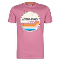 Odjeća Muškarci  Majice kratkih rukava Jack & Jones JORTYLER Ružičasta