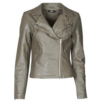 Odjeća Žene  Kožne i sintetičke jakne Only ONLGEMMA Siva