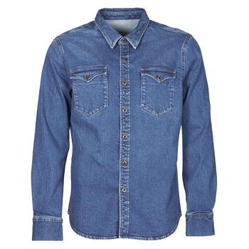 Odjeća Muškarci  Košulje dugih rukava Yurban OPUCI Blue