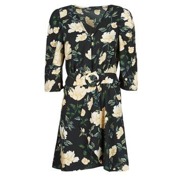 Odjeća Žene  Kratke haljine Only ONLEVE 3/4 SLEEVE SHORT DRESS WVN Crna