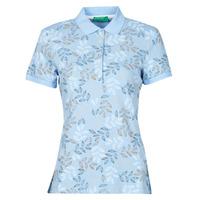 Odjeća Žene  Polo majice kratkih rukava Benetton CHOLU Blue