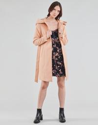 Odjeća Žene  Kaputi Vero Moda VMCALALYON HOOD 3/4 JACKET GA Ružičasta