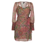 Odjeća Žene  Kratke haljine Vero Moda VMABELIA Zelena / Red