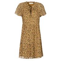 Odjeća Žene  Kratke haljine Naf Naf MARIA R1 Camel