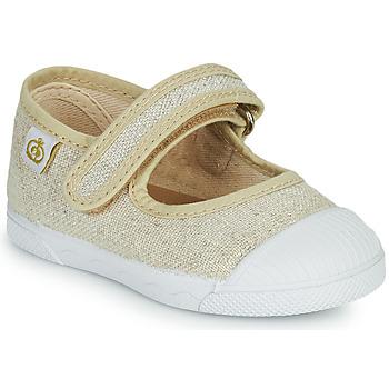 Obuća Djevojčica Balerinke i Mary Jane cipele Citrouille et Compagnie APSUT Bež