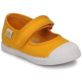 Obuća Djevojčica Balerinke i Mary Jane cipele Citrouille et Compagnie APSUT Žuta