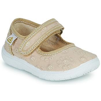 Obuća Djevojčica Balerinke i Mary Jane cipele Citrouille et Compagnie OSAPA Bež