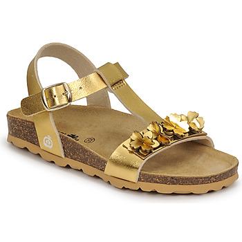 Obuća Djevojčica Sandale i polusandale Citrouille et Compagnie KAPIBA Gold