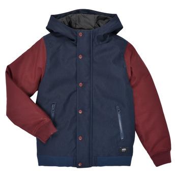 Odjeća Dječak  Kratke jakne Vans BY WELLS MTE Bordo