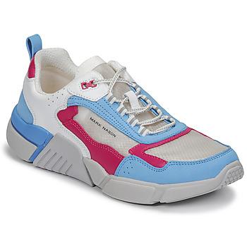 Obuća Žene  Niske tenisice Skechers BLOCK/WEST Bijela / Blue / Ružičasta