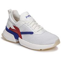 Obuća Žene  Niske tenisice Skechers SPLIT/OVERPASS Bijela / Blue / Red