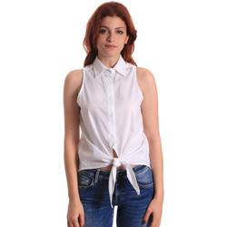 Odjeća Žene  Topovi i bluze Fornarina SE174573CA1609 Bijela
