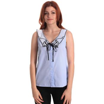 Odjeća Žene  Topovi i bluze Fornarina SE174576CA1218 Plava