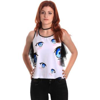 Odjeća Žene  Topovi i bluze Fornarina SE175L26JG0709 Bijela