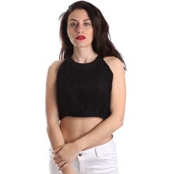 Odjeća Žene  Topovi i bluze Fracomina FR19SP689 Crno