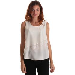 Odjeća Žene  Topovi i bluze Liu Jo W69236 T8552 Bijela