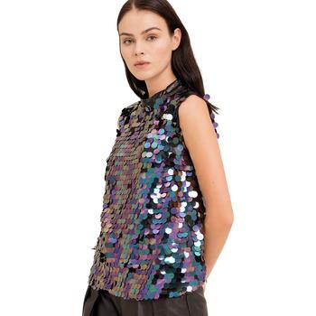 Odjeća Žene  Topovi i bluze Fracomina FR19FP508 Crno