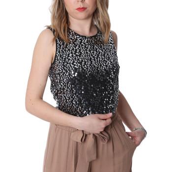 Odjeća Žene  Topovi i bluze Fracomina FR20SP634 Crno