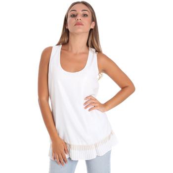 Odjeća Žene  Topovi i bluze Fracomina FR20SM014 Bijela