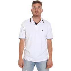 Odjeća Muškarci  Polo majice kratkih rukava Les Copains 9U9021 Bijela