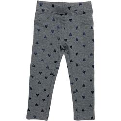 Odjeća Djevojčica Tajice Losan 026-6009AL Siva