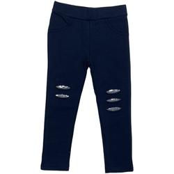 Odjeća Djevojčica Tajice Losan 026-6008AL Plava
