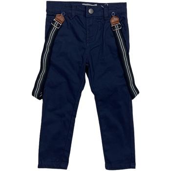 Odjeća Djeca Chino hlačei hlače mrkva kroja Losan 025-9790AL Plava