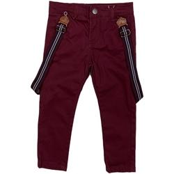 Odjeća Djeca Chino hlačei hlače mrkva kroja Losan 025-9790AL Crvena