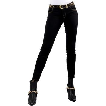 Odjeća Žene  Slim traperice Versace A1HVB02HAPV4P899 Crno