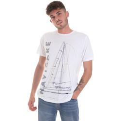 Odjeća Muškarci  Majice kratkih rukava Navigare NV31109 Bijela