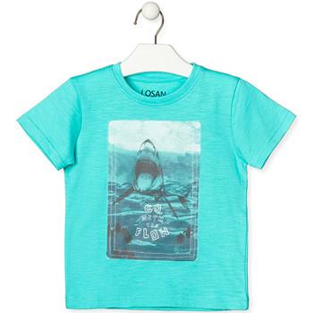 Odjeća Djeca Majice kratkih rukava Losan 015-1018AL Zelena