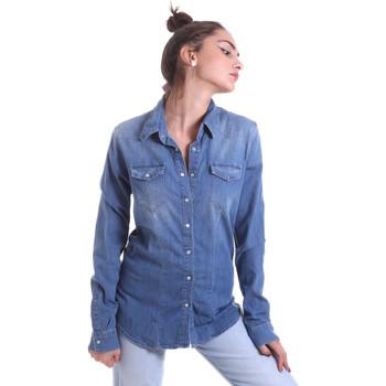 Odjeća Žene  Košulje i bluze Fornarina BE174577D884AS Plava