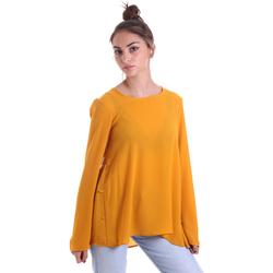 Odjeća Žene  Topovi i bluze Fracomina F120W19008W00401 Žuta boja