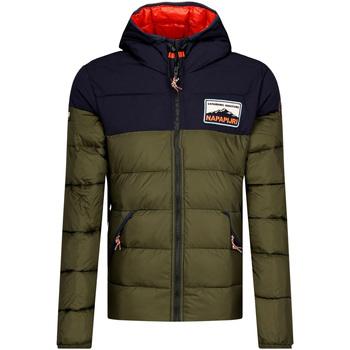 Odjeća Muškarci  Pernate jakne Napapijri NP0A4ENR Zelena