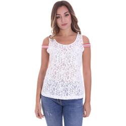 Odjeća Žene  Topovi i bluze Fornarina BE175J89JG1309 Bijela