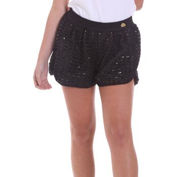 Odjeća Žene  Bermude i kratke hlače Fornarina BE171M03H26400 Crno