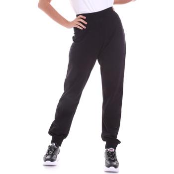 Odjeća Žene  Hlače Key Up 5FI47 0001 Crno