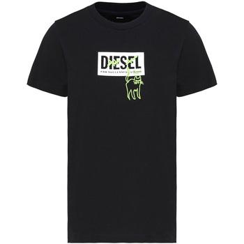 Odjeća Žene  Majice kratkih rukava Diesel A00255 0HERA Crno