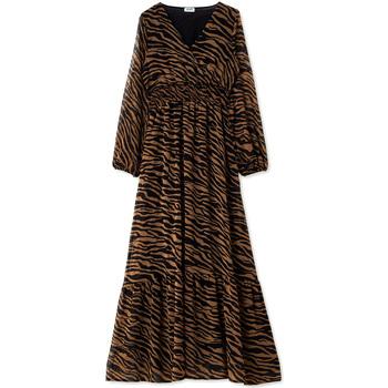 Odjeća Žene  Duge haljine Liu Jo WF0194 T0110 Crno