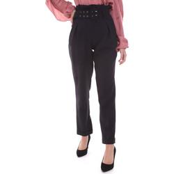 Odjeća Žene  Chino hlačei hlače mrkva kroja Gaudi 021FD25013 Crno