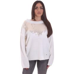 Odjeća Žene  Puloveri Gaudi 021BD53044 Bijela