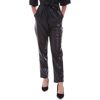 Odjeća Žene  Chino hlačei hlače mrkva kroja Gaudi 021FD28001 Crno