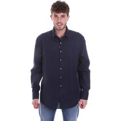 Odjeća Muškarci  Košulje dugih rukava Calvin Klein Jeans K10K106040 Plava